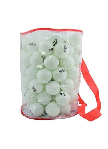 Selex Selex TB800 100'lü Çanta İÇinde Masa Tenisi Topu Beyaz